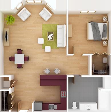 Bonita McDonald Interiors, LLC Interior Layout